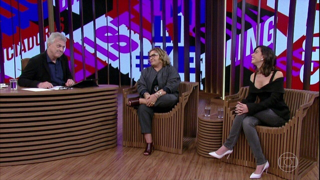 Joyce Pascowitch e Camila Coutinho falam sobre trabalhos nas mais diversas plataformas
