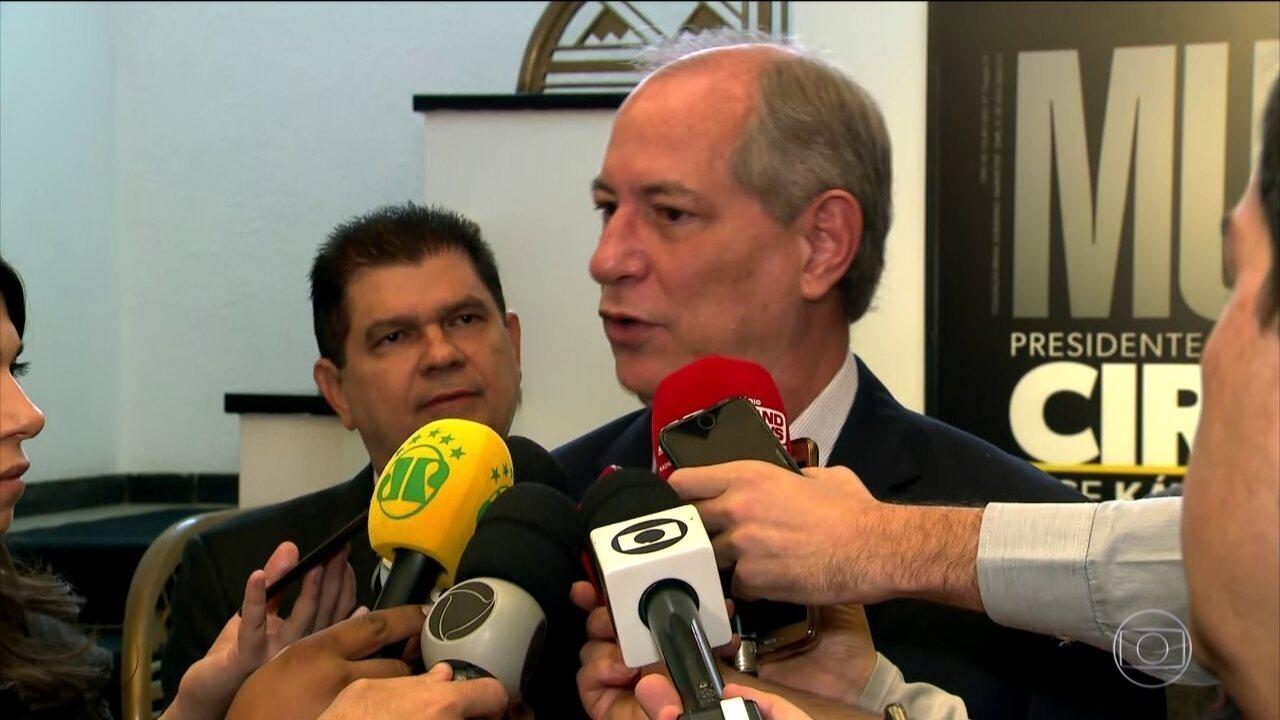 Ciro Gomes (PDT) cumpre compromissos de campanha em São Paulo