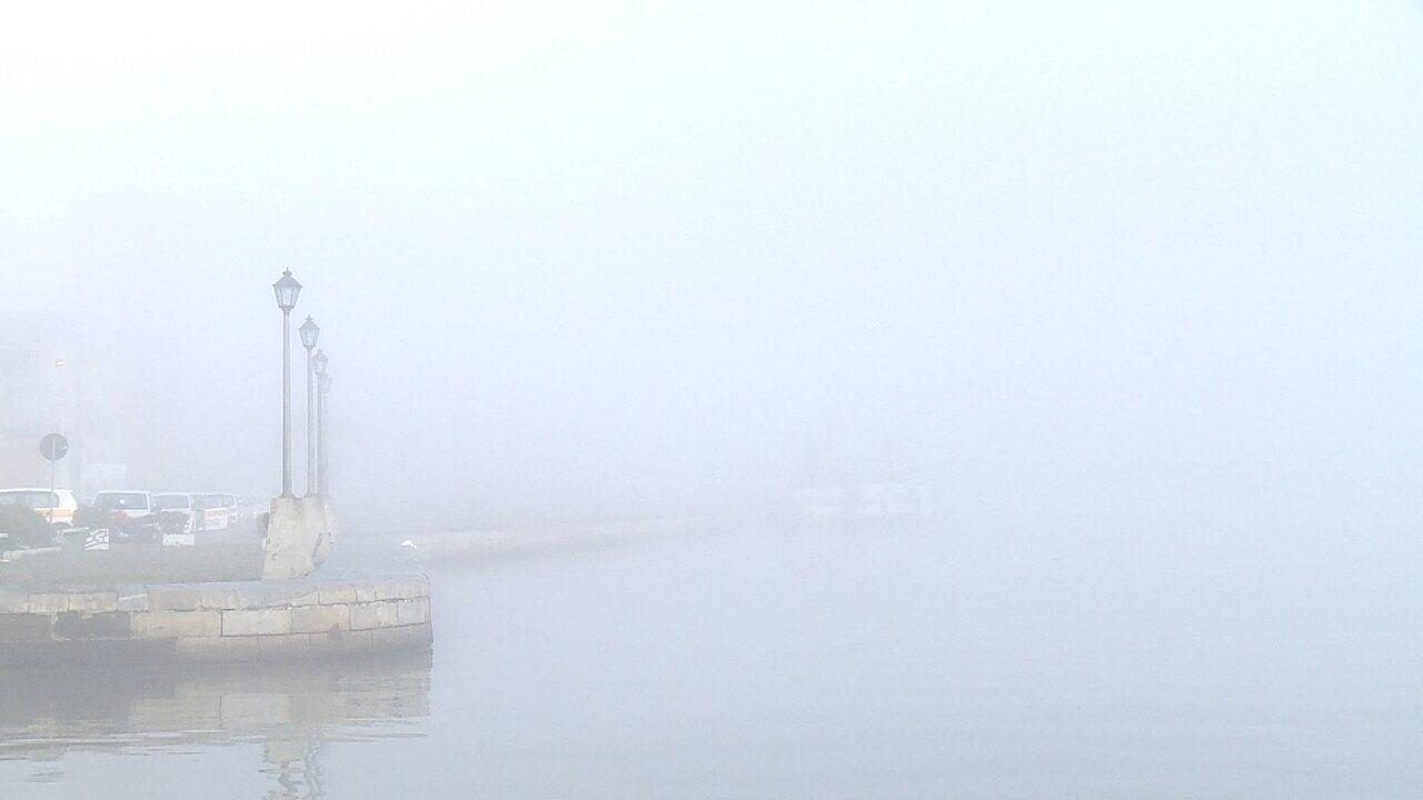 Neblina impede manobras com navios no porto de Rio Grande