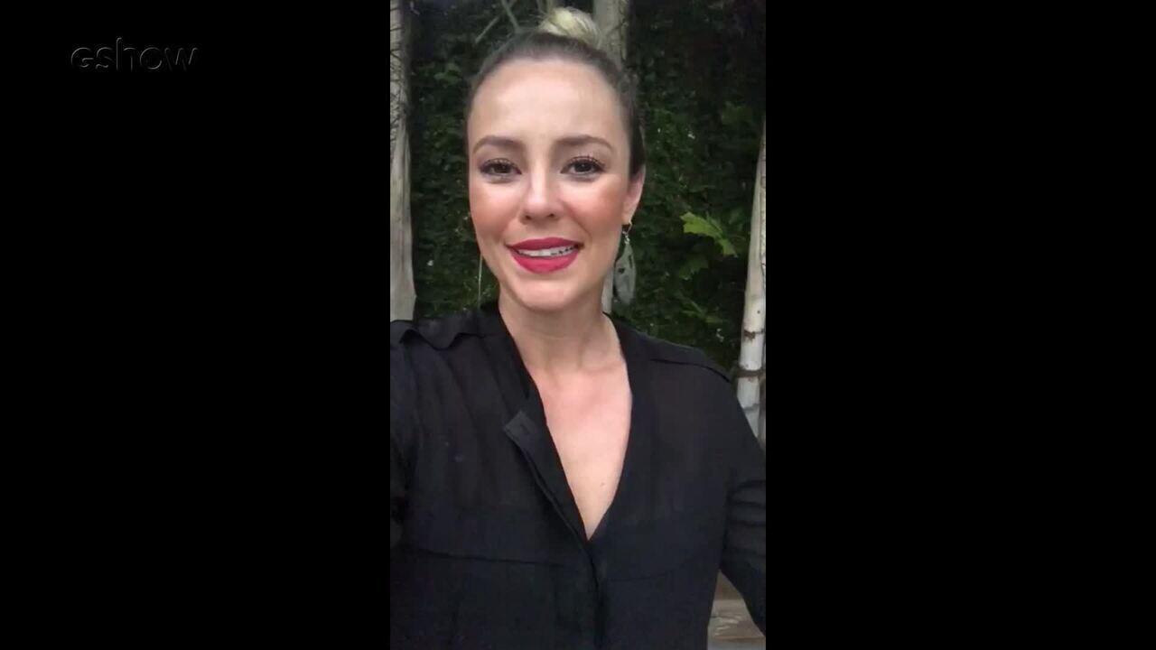 Paola Oliveira revela convite para apresentar 'Festeja'