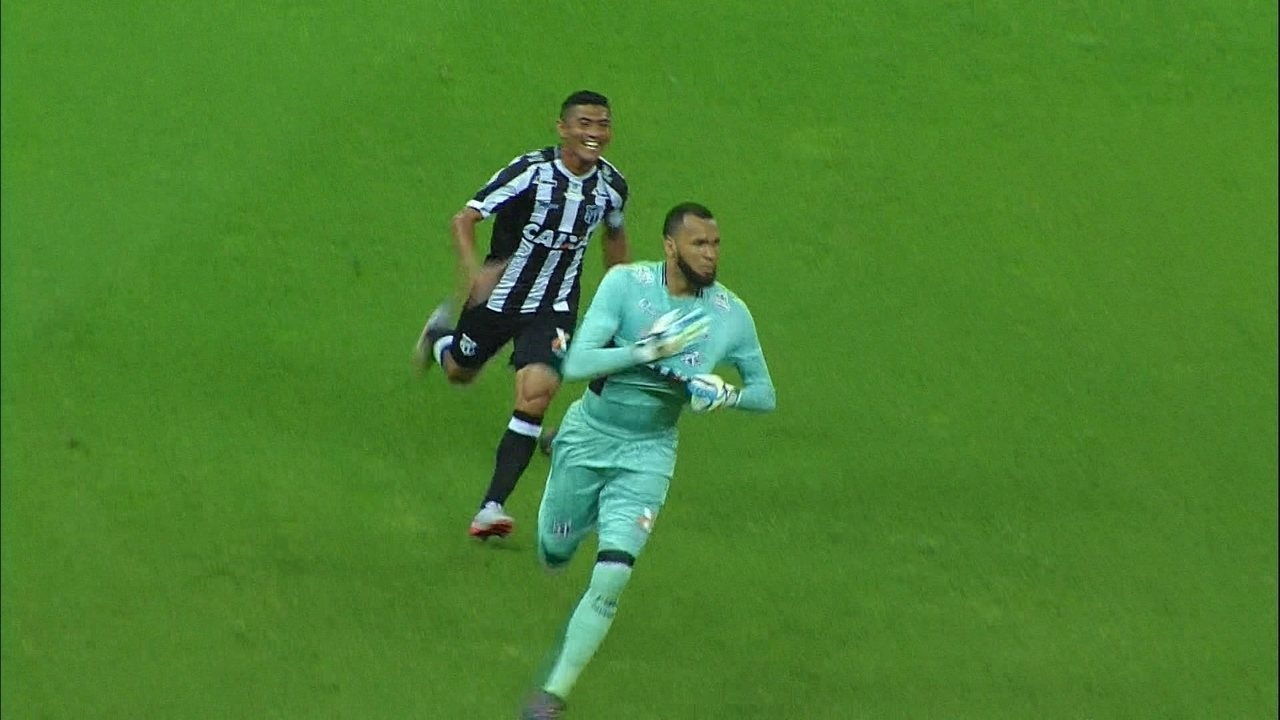 Assista ao gol de Éverson contra o Corinthians