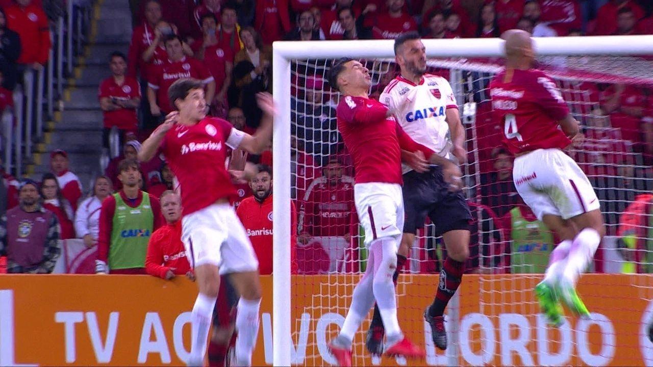 Melhores momentos  Internacional 2 x 1 Flamengo pela 23ª rodada do  Brasileirão 6309d060a2878