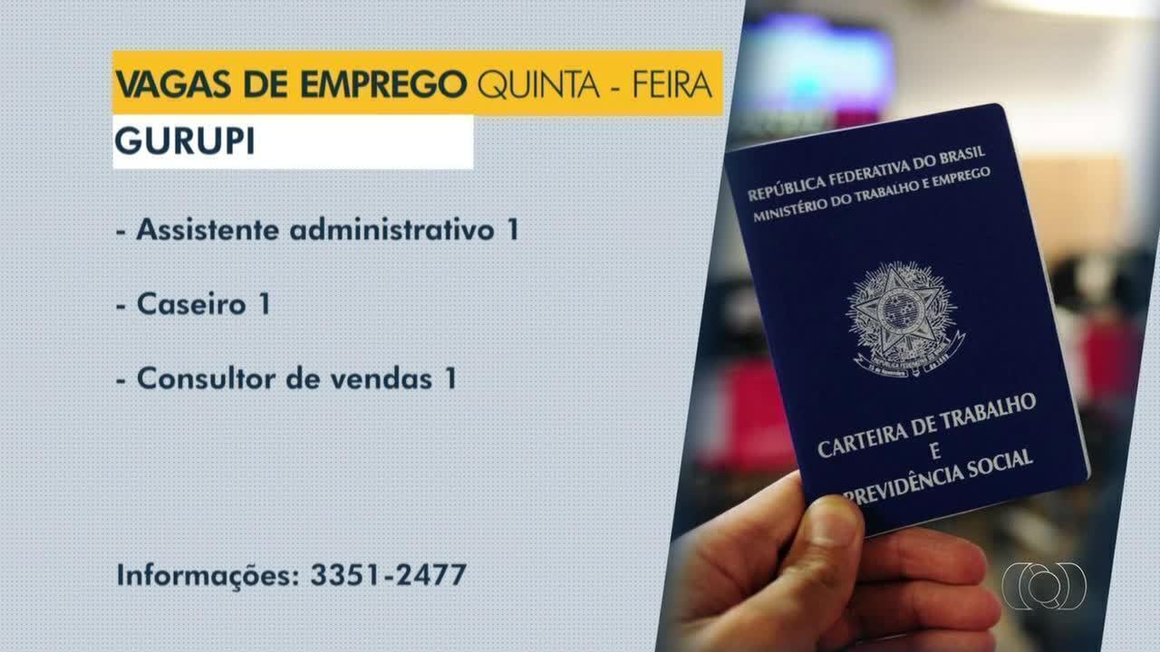 Confira as vagas de emprego disponíveis para Araguaína, Guaraí e Gurupi