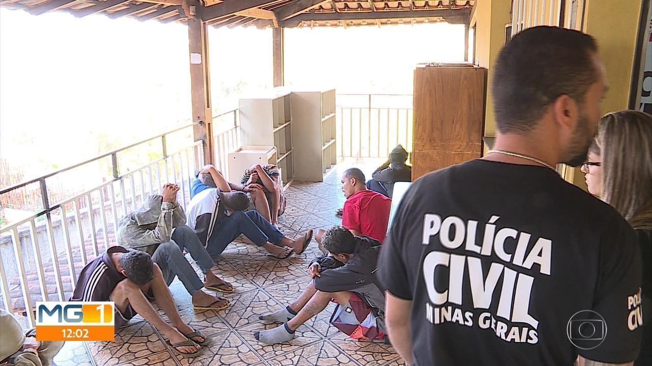 Dezenove suspeitos são presos em operação contra tráfico e homicídios em Neves