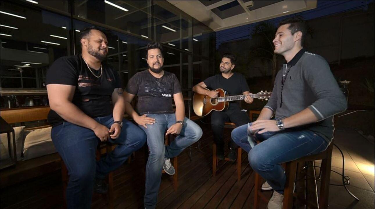 Confira o musical sobre amizade com Zé Ricardo e Thiago
