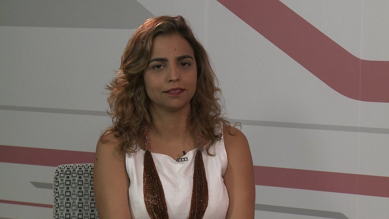 G1 entrevista a candidata ao Senado Eugênia Lima