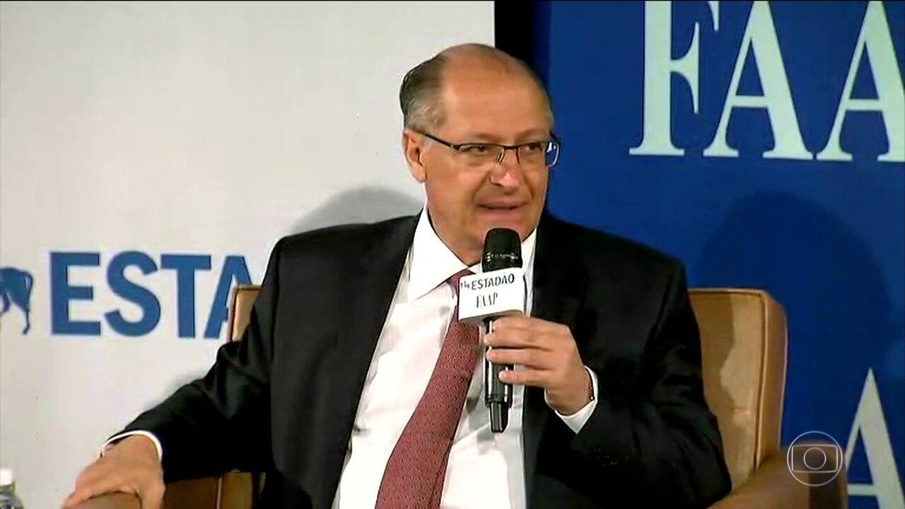 Geraldo Alckmin faz campanha em São Paulo nesta quinta-feira (06)