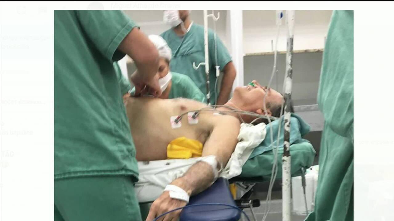 Jair Bolsonaro passa por cirurgia após atentado em Juiz de Fora
