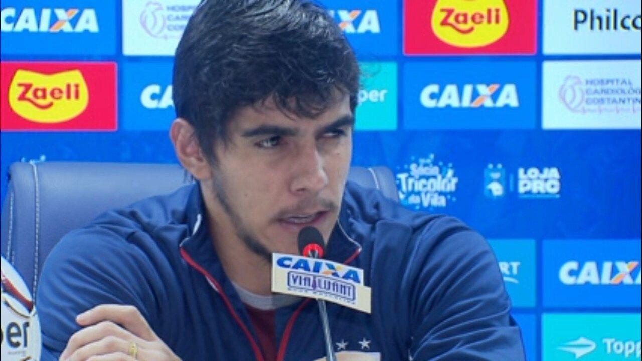 Richard foca em reação no Paraná Clube para dar resposta