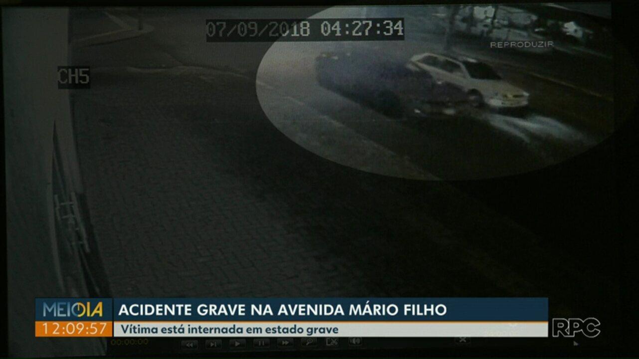 RPC teve acesso a imagens que mostram o camaro antes de se envolver em acidente