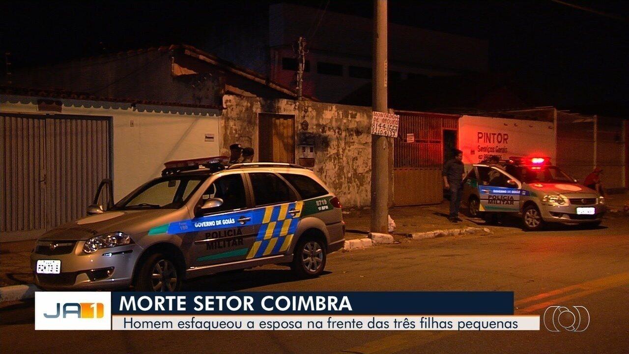 Mulher é assassinada em frente às três filhas, no Setor Coimbra, em Goiânia