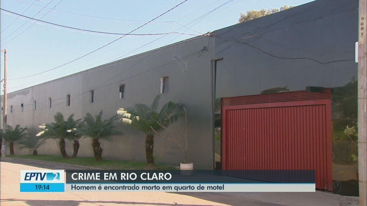 Polícia Civil investiga morte de contador em motel de Rio Claro, SP