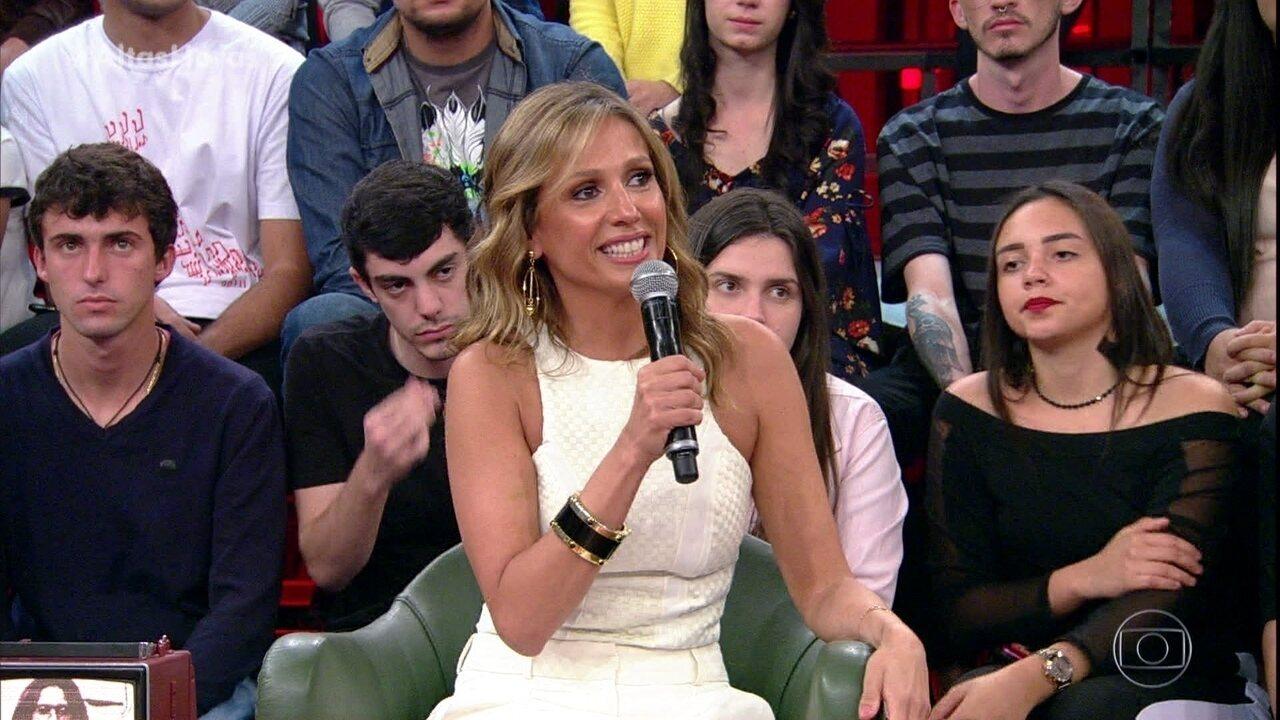 Luisa Mell revela seu nome de batismo