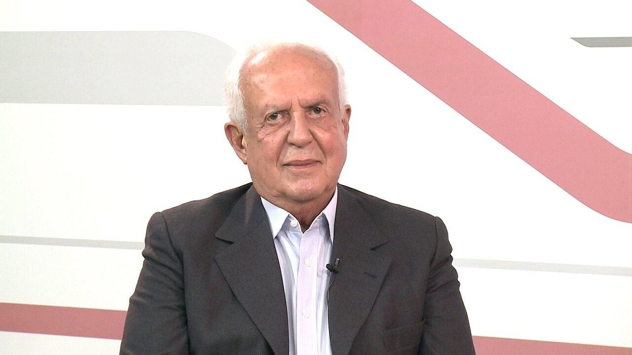 G1 entrevista o candidato ao Senado Jarbas Vasconcelos