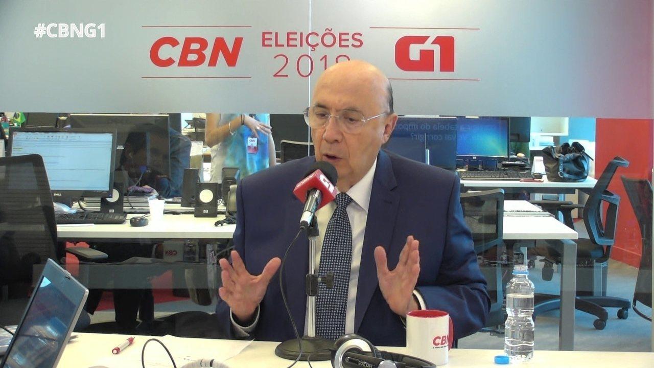 Meirelles fala sobre segurança pública e crime organizado
