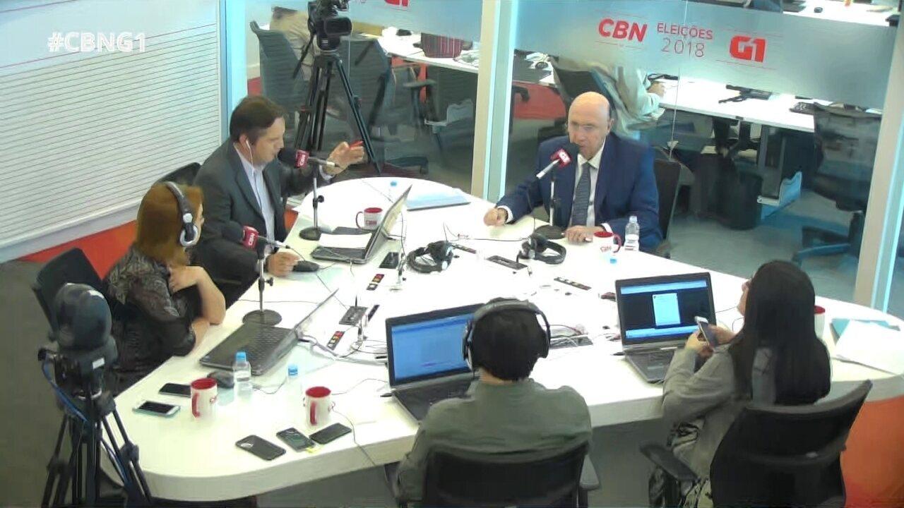 Henrique Meirelles (MDB) é entrevistado pelo G1 e pela CBN