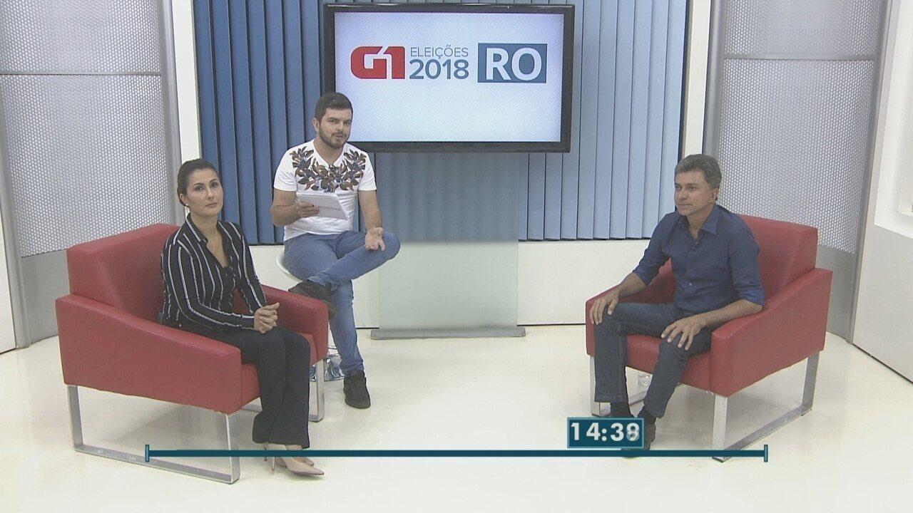 Expedito Júnior, candidato ao governo de RO, é entrevistado no G1 Rondônia