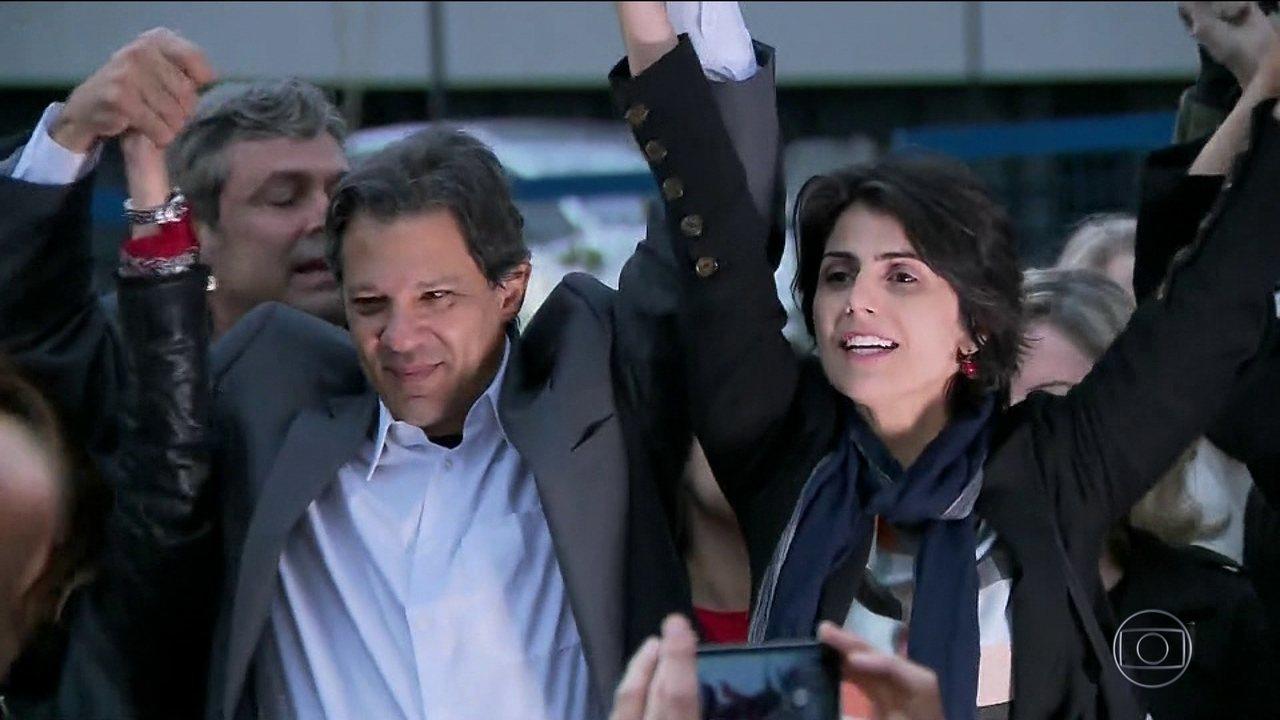 PT oficializa nome de Haddad como candidato a presidente no lugar de Lula