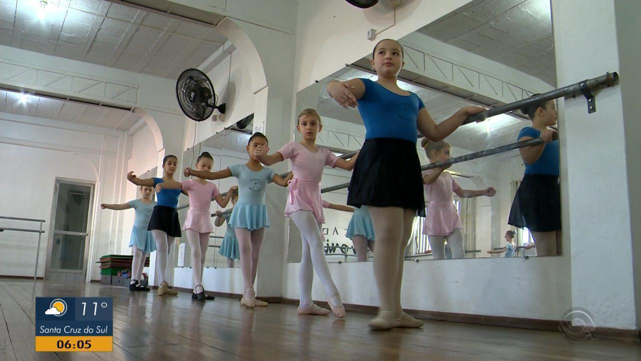 Escola do Teatro Bolshoi pré-seleciona bailarinos em no Rio Grande do Sul