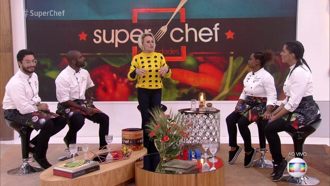 Ana Maria explica prova do Super Chef Celebridades