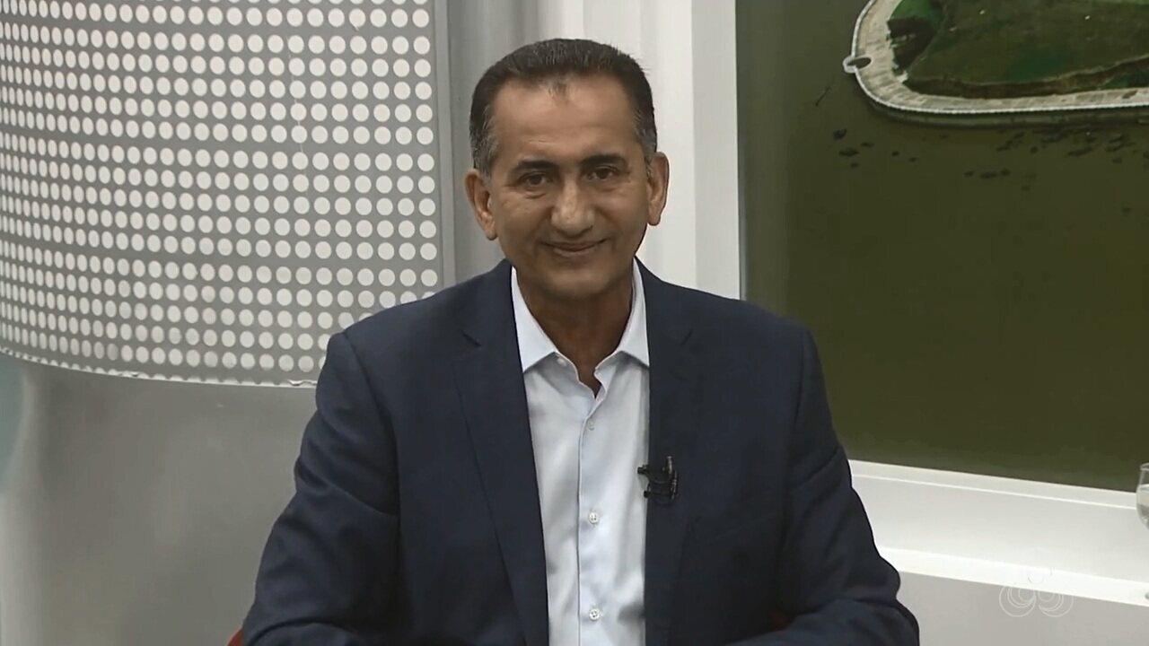 JAP1 entrevista o candidato ao governo do Amapá, Waldez, do PDT