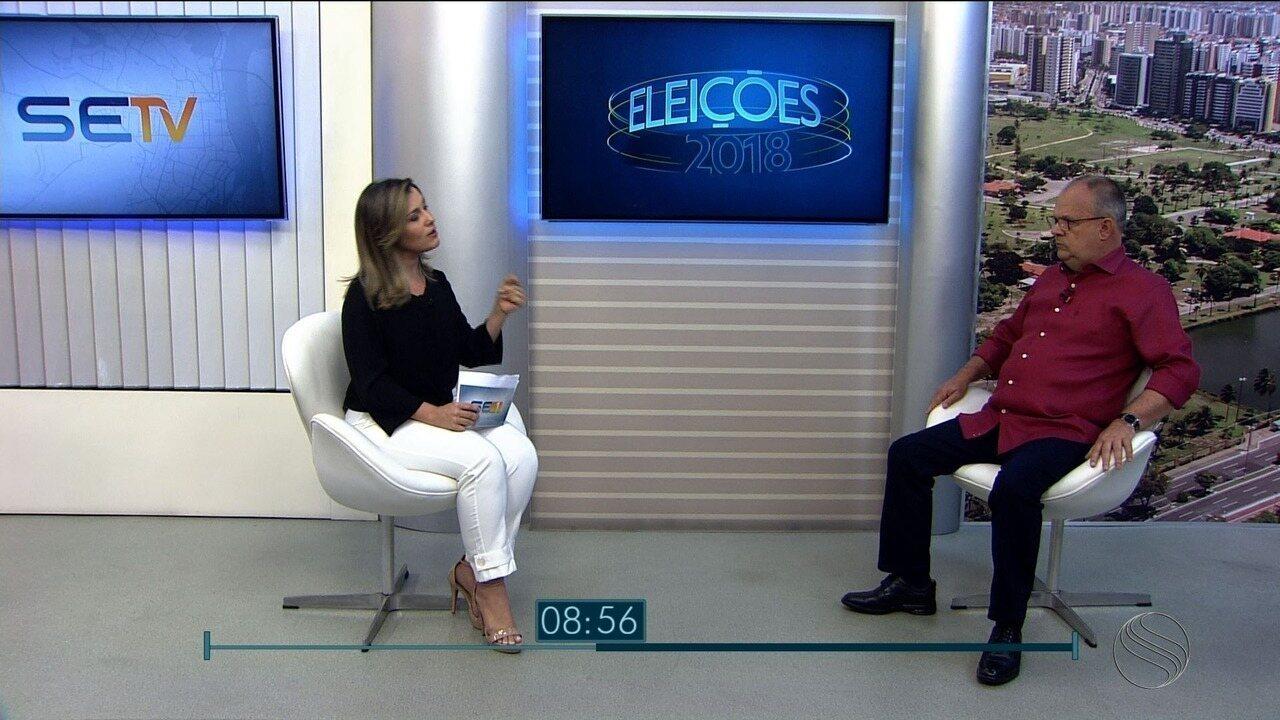 Belivaldo Chagas é entrevistado no SETV1ª Edição