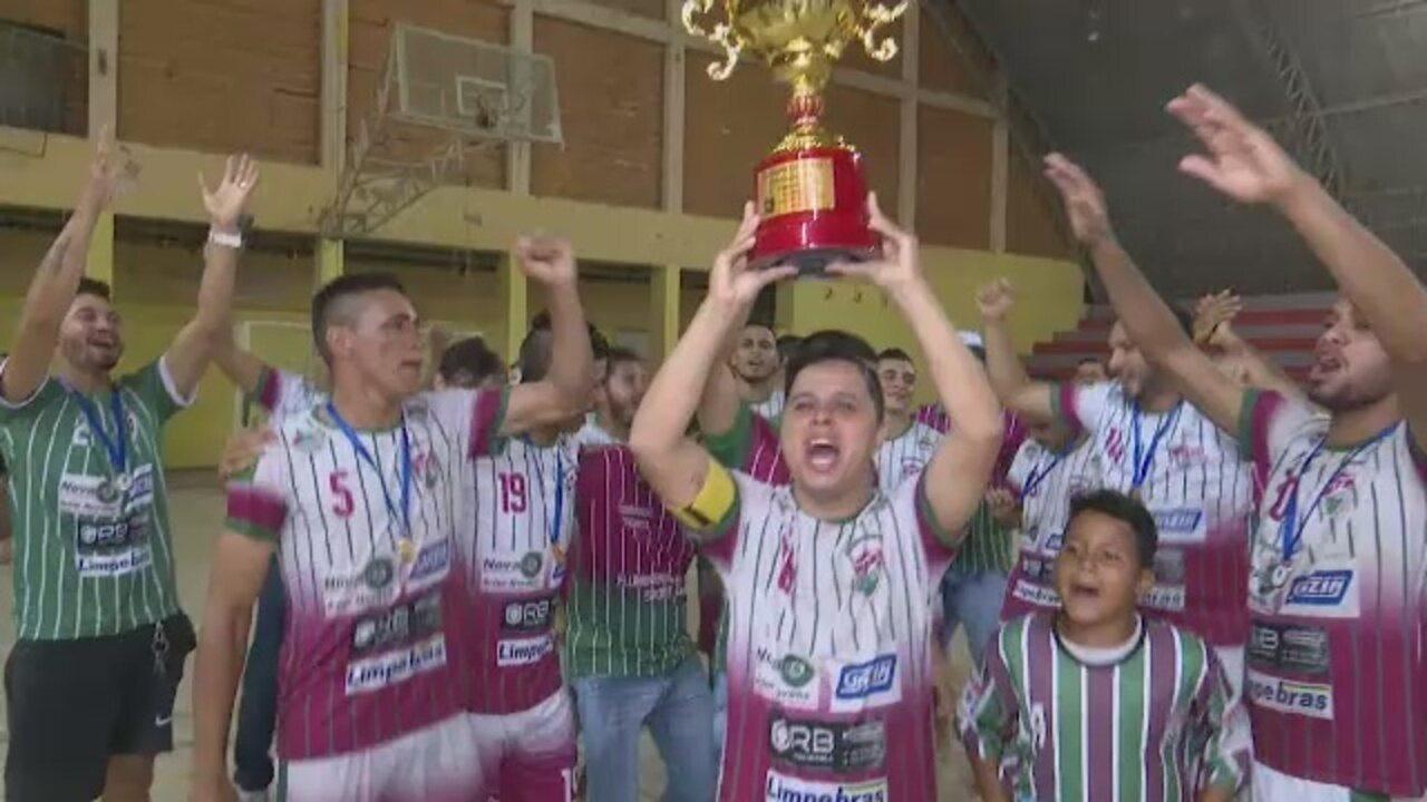 Em jogo com agressão a árbitro, Flu da Bahia é campeão do Acreano de Futsal da 2ª divisão