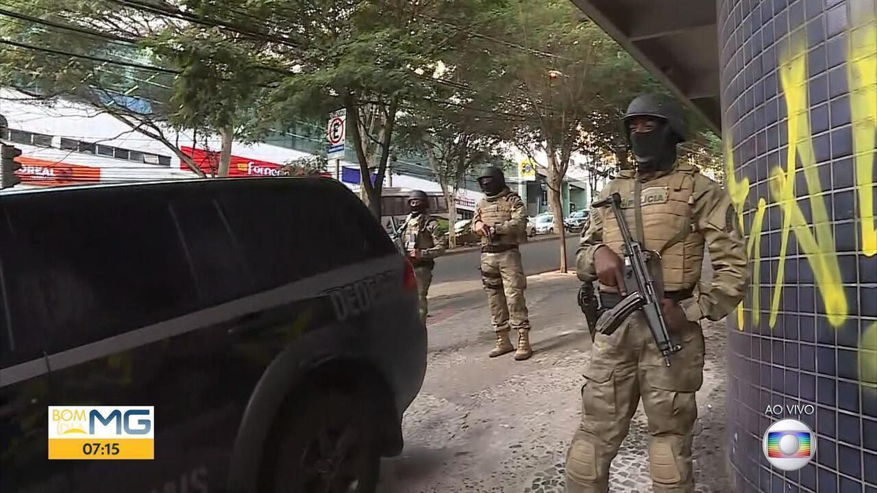 Polícia cumpre mandados em três cidades de Minas