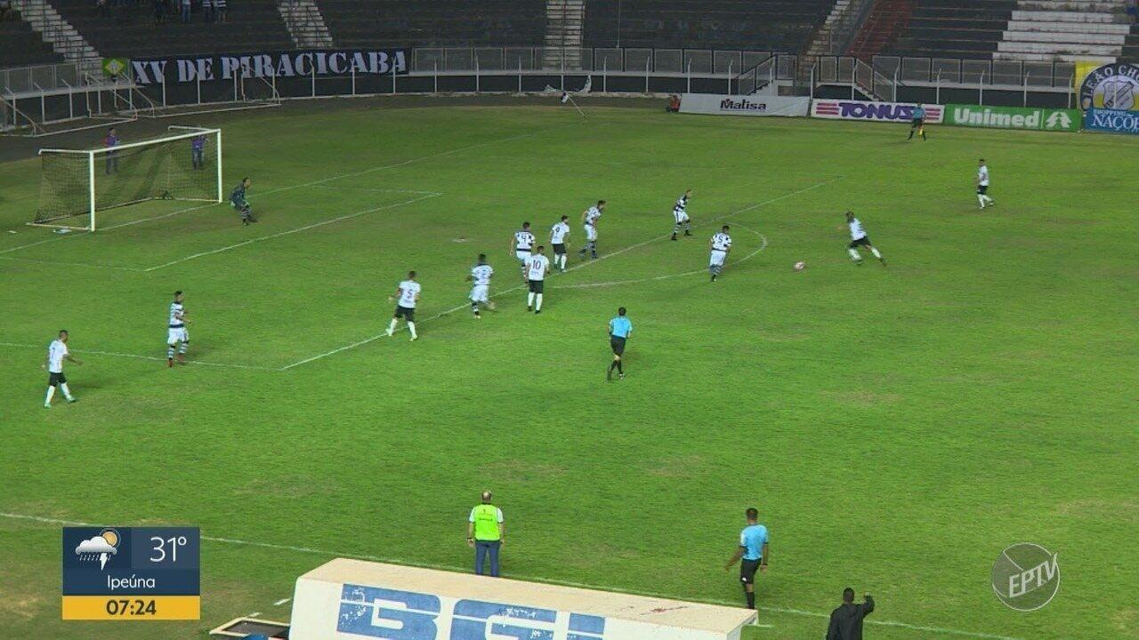 XV de Piracicaba vence Inter de Limeira, fora de casa