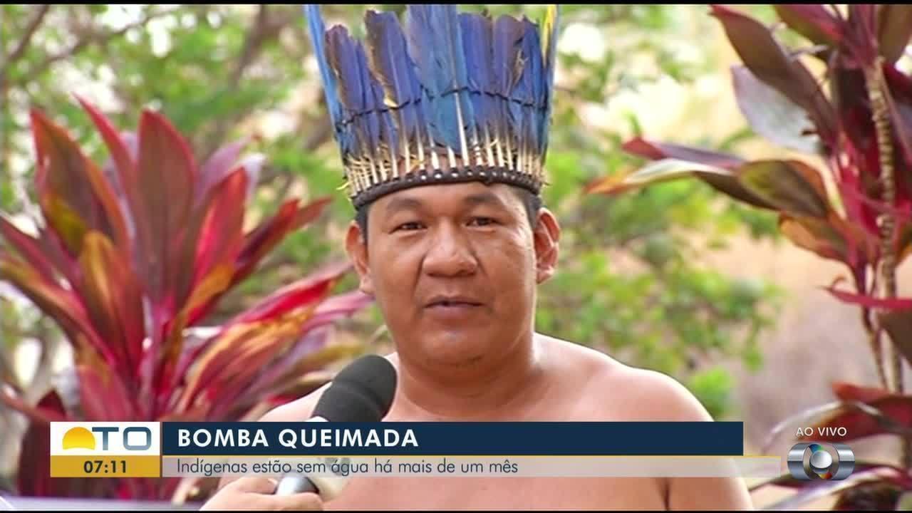 Indígenas da aldeia Cachoeirinha estão sem água há mais de um mês