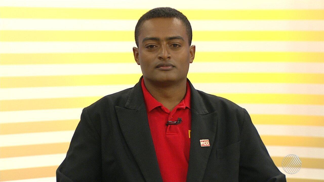 Eleições 2018: Orlando Andrade (PCO) é o entrevistado do Bahia Meio Dia
