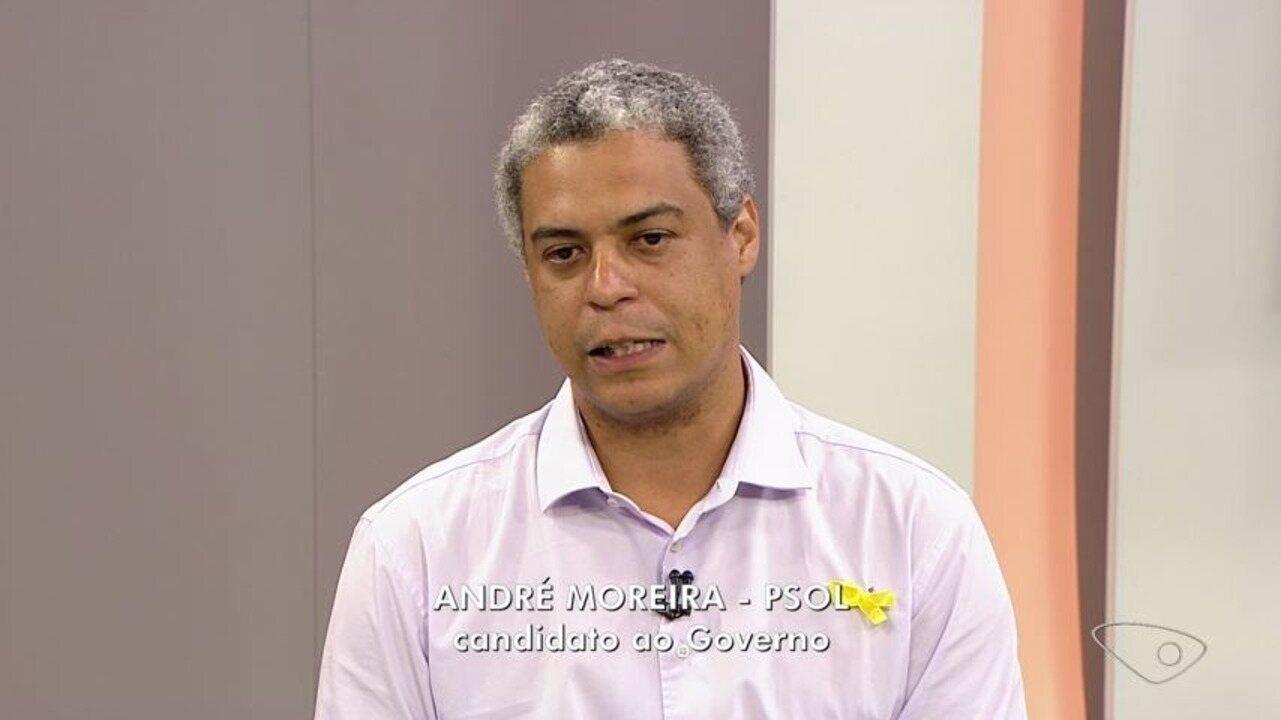 ESTV 1ª Edição entrevista André Moreira