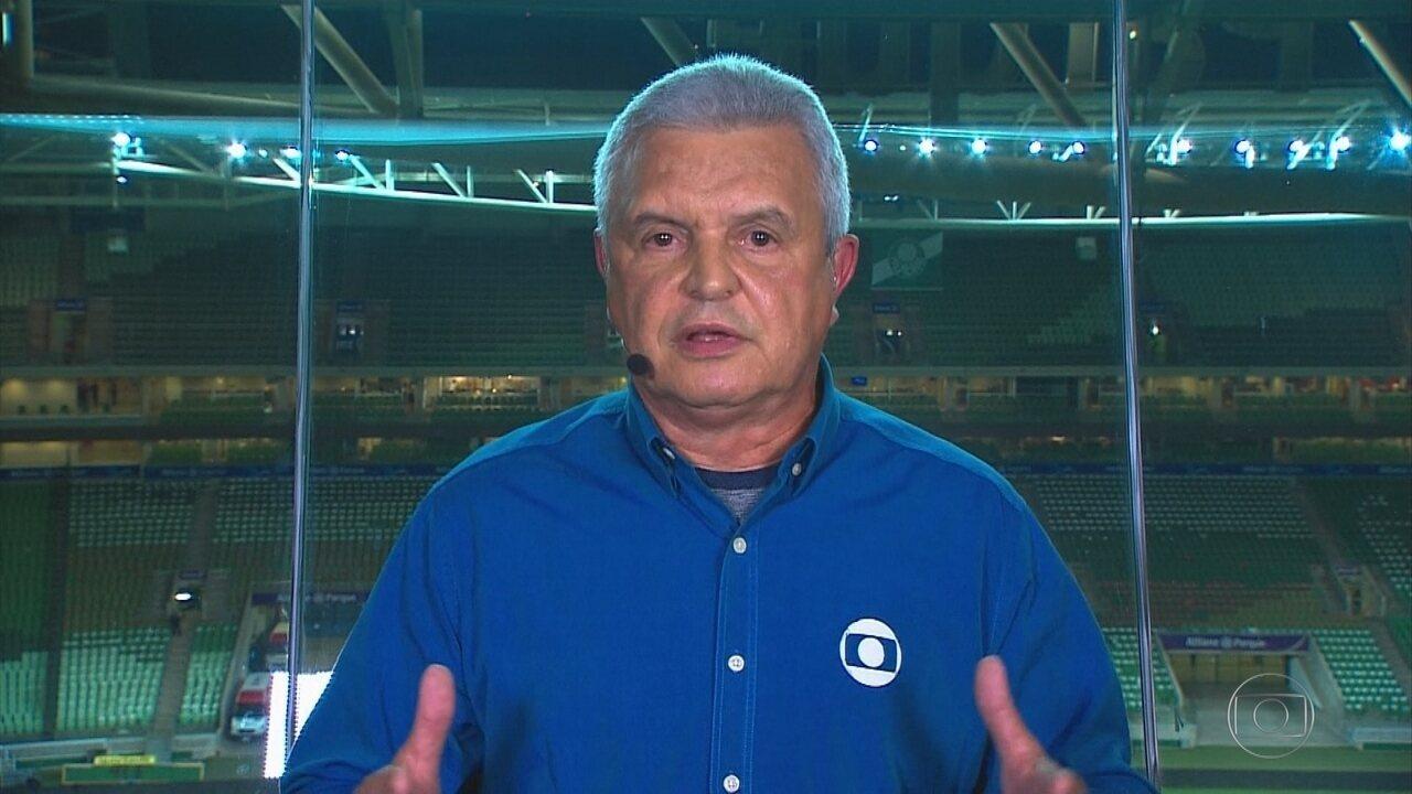Márcio Rezende Freitas esclarece o polêmico lance do jogo do Cruzeiro com o Palmeiras