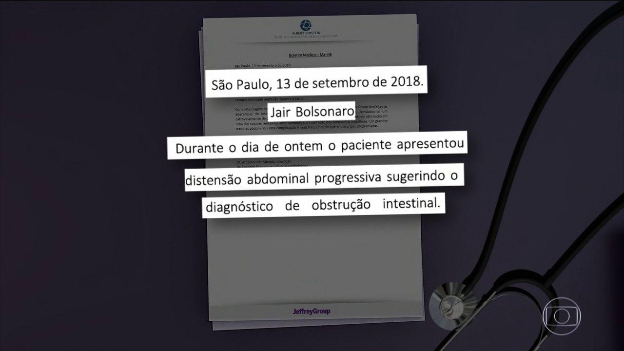 Jair Bolsonaro se recupera bem após cirurgia, mas volta para UTI