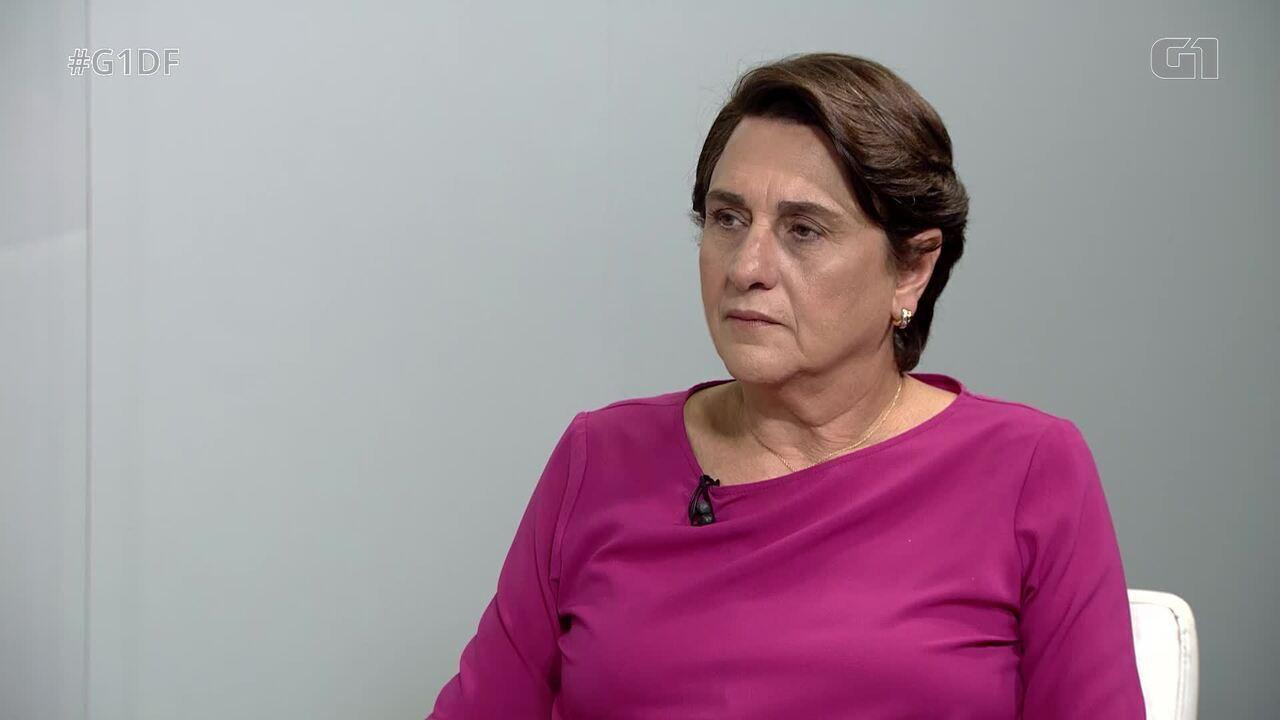 G1 entrevista a candidata ao governo do DF Eliana Pedrosa, do Pros - Bloco 2
