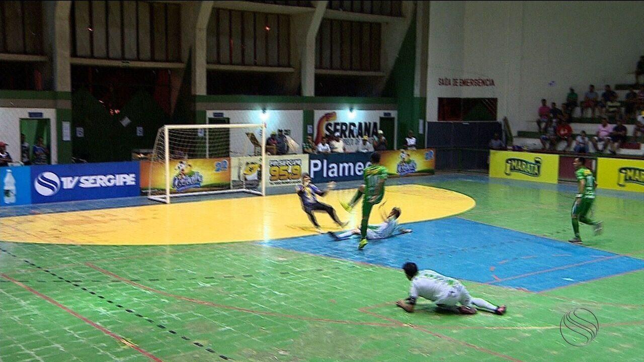Lagarto vence Campo do Brito de virada e garante vaga na próxima fase da Copa TV Sergipe