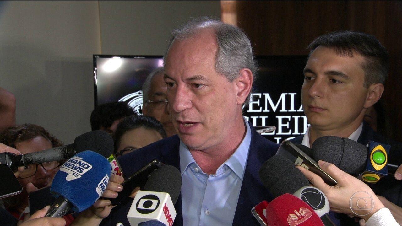 Candidato do PDT, Ciro Gomes, fez campanha no Rio de Janeiro
