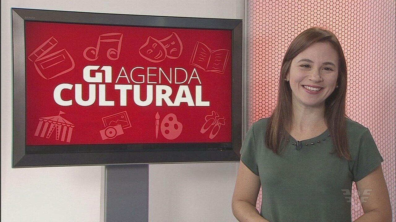 Agenda do G1 traz as dicas para animar o seu fim de semana