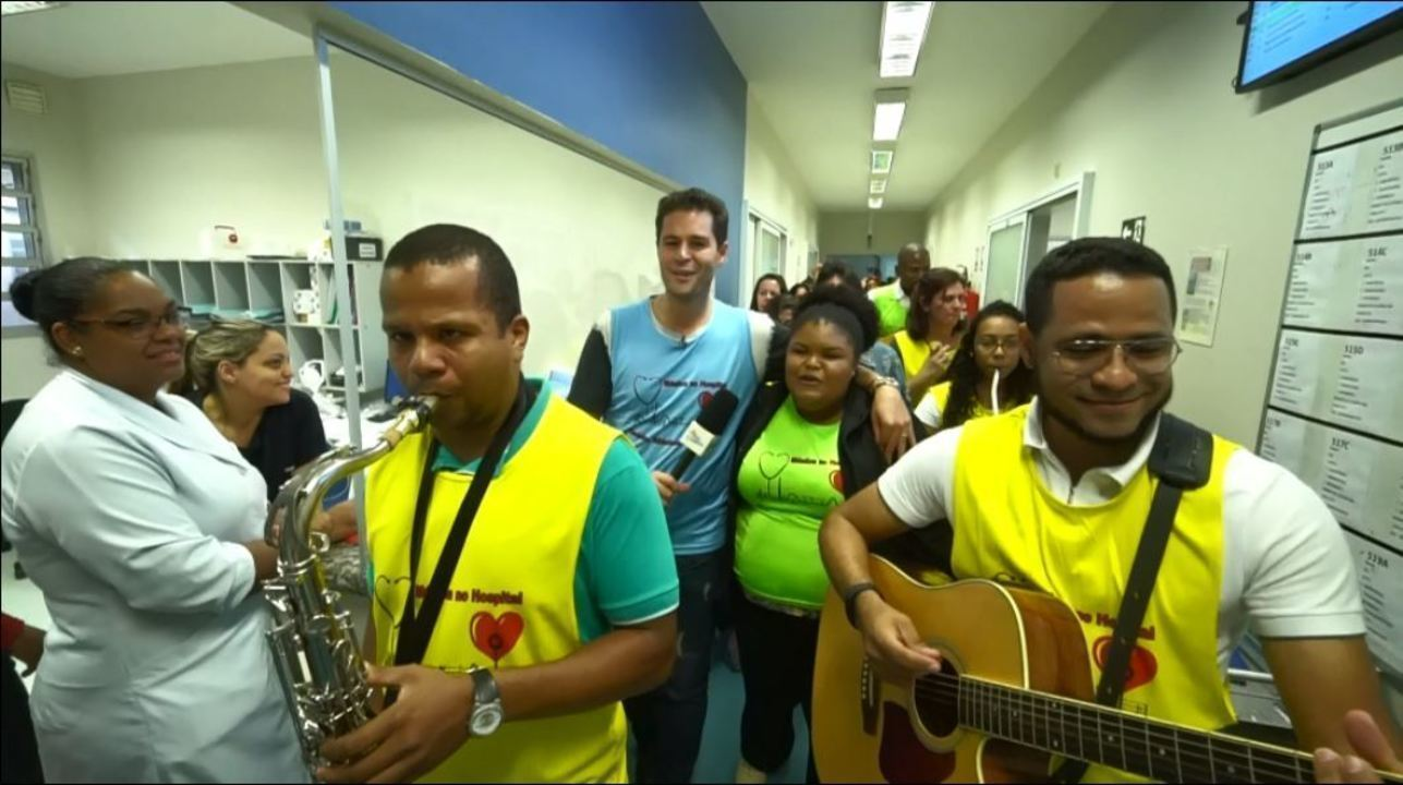 Musical especial no hospital Celso Pierro