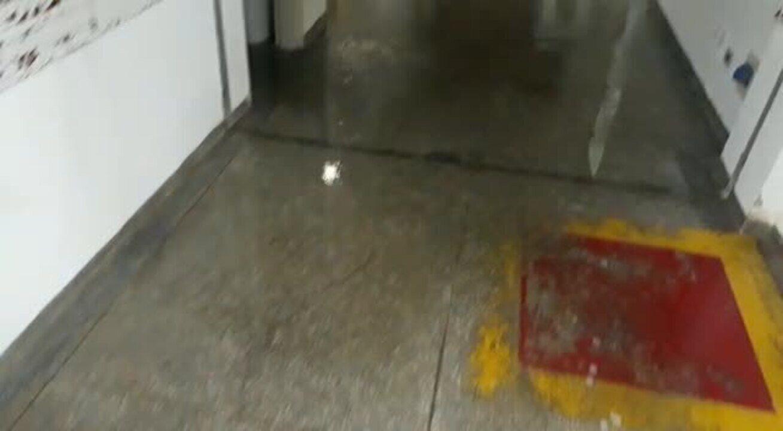 Chuva no Hospital Regional de Rondonópolis
