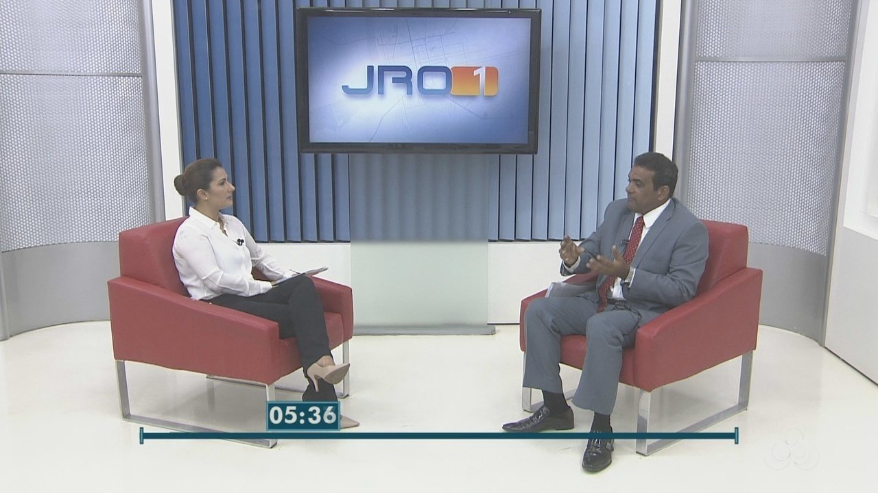 Pimenta de Rondônia, candidato ao governo de RO, é entrevistado no JRO 1