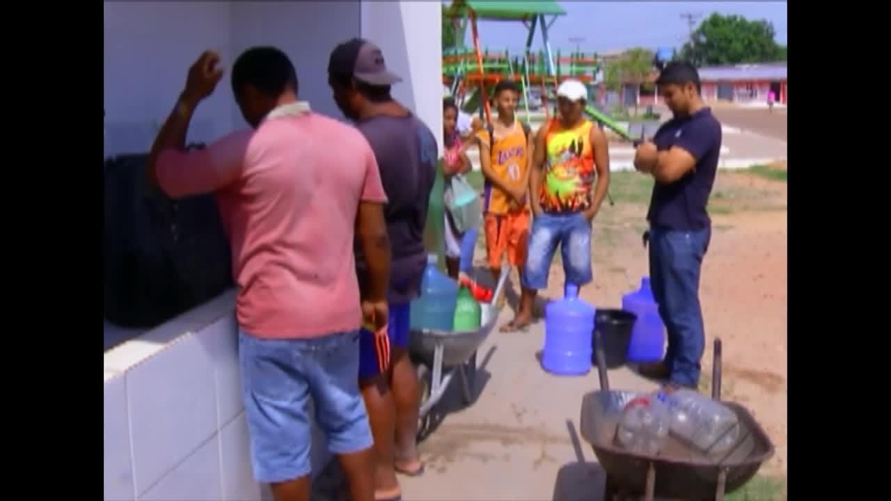 Em Marabá, cerca de 20 mil casas estão sem água nesta sexta-feira, 14