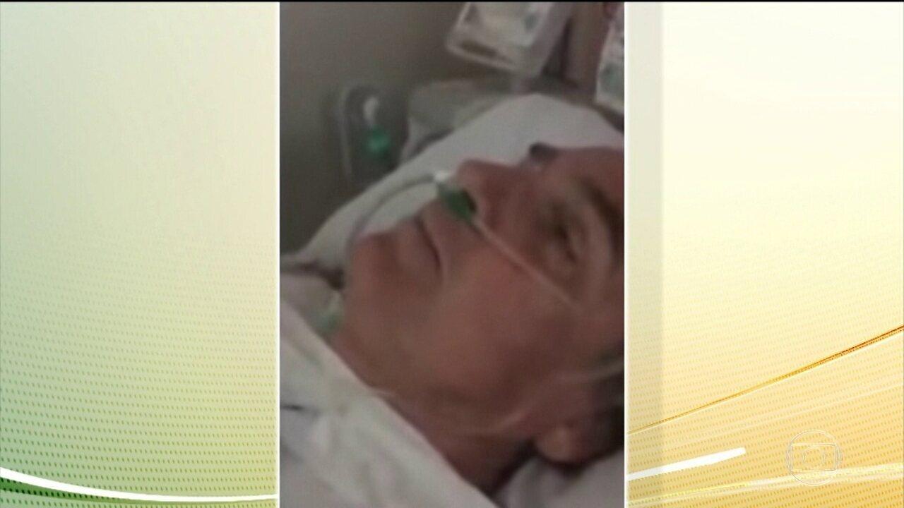 Jair Bolsonaro se recupera de cirurgia