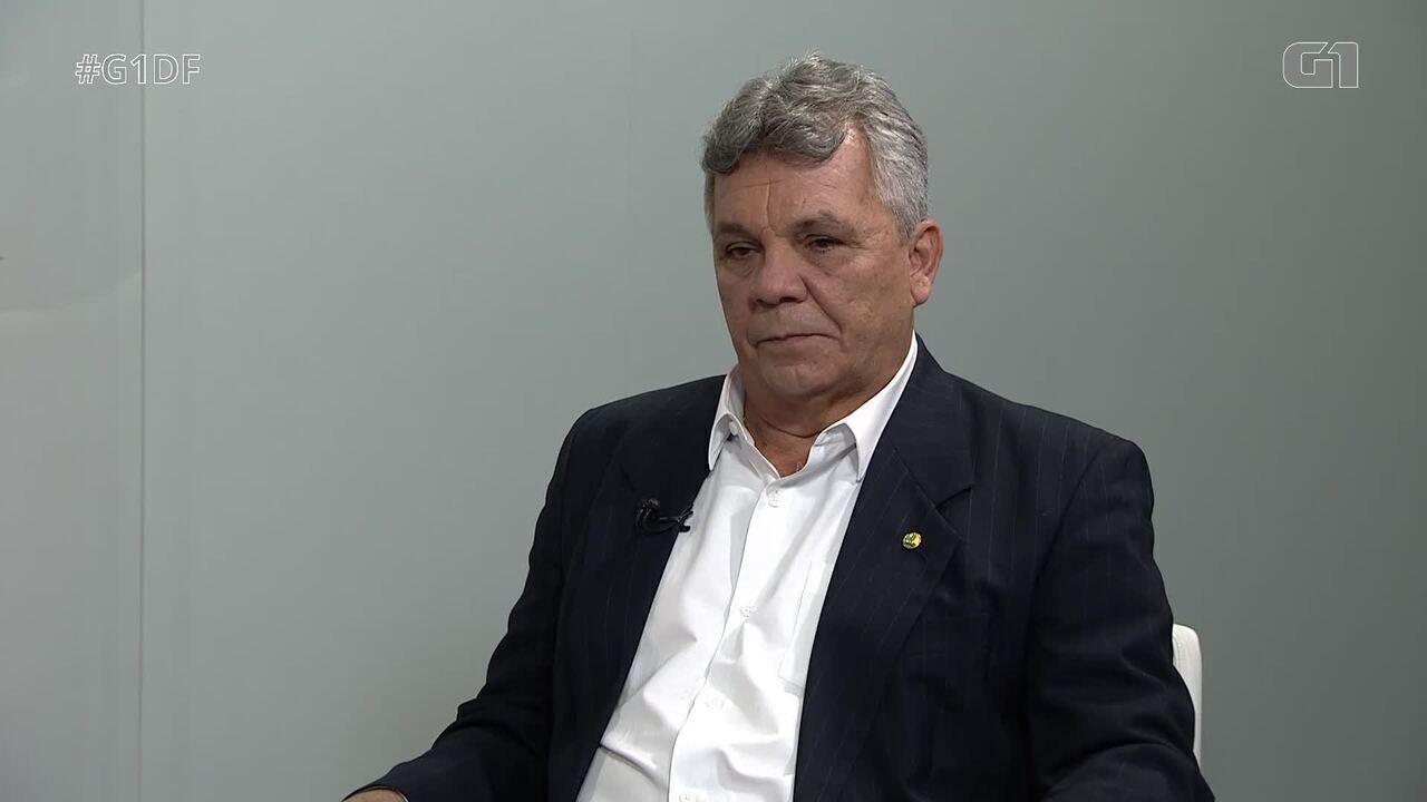G1 entrevista o candidato ao governo do DF Alberto Fraga, do DEM - Bloco 1