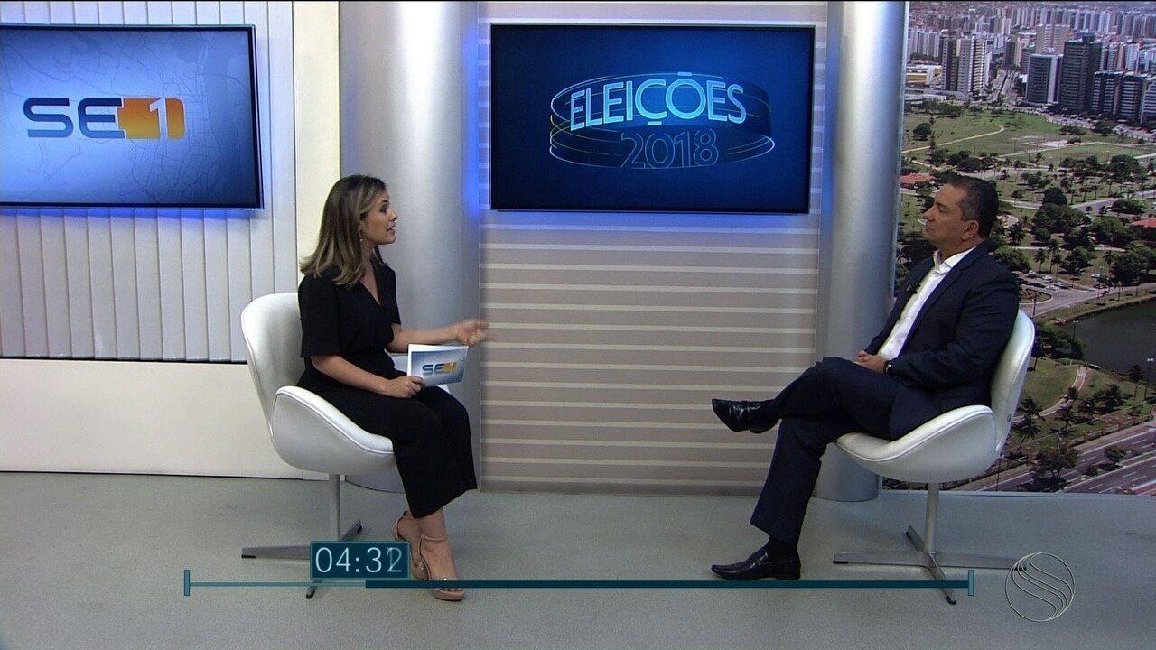 Mendonça Prado é entrevistado no SETV1ª Edição