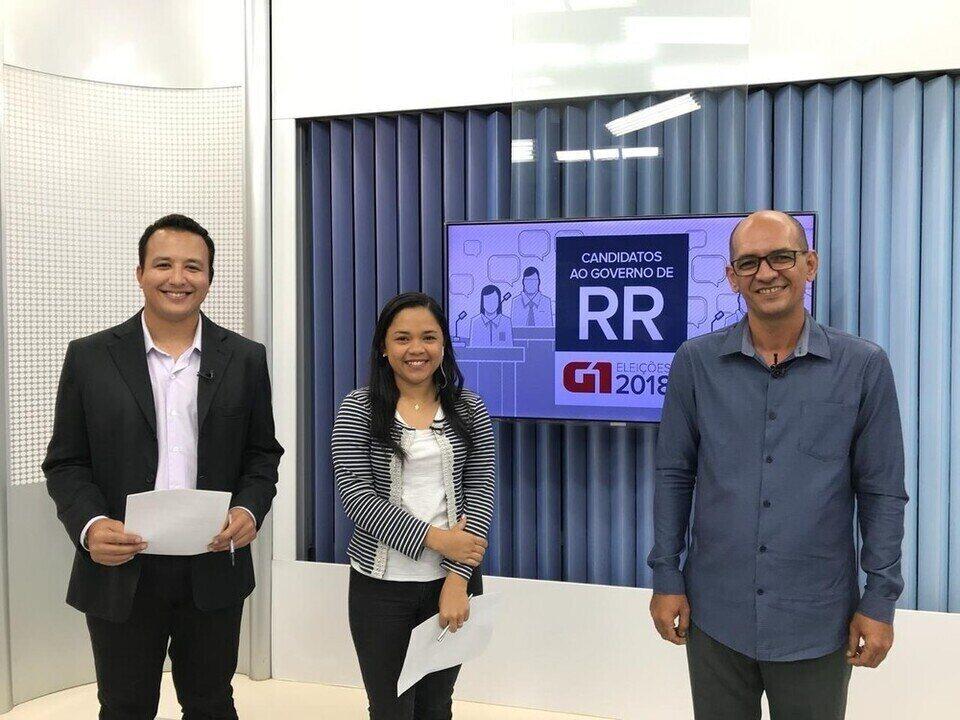 Candidato ao governo de Roraima, Fábio Almeida é entrevistado pelo G1 RR