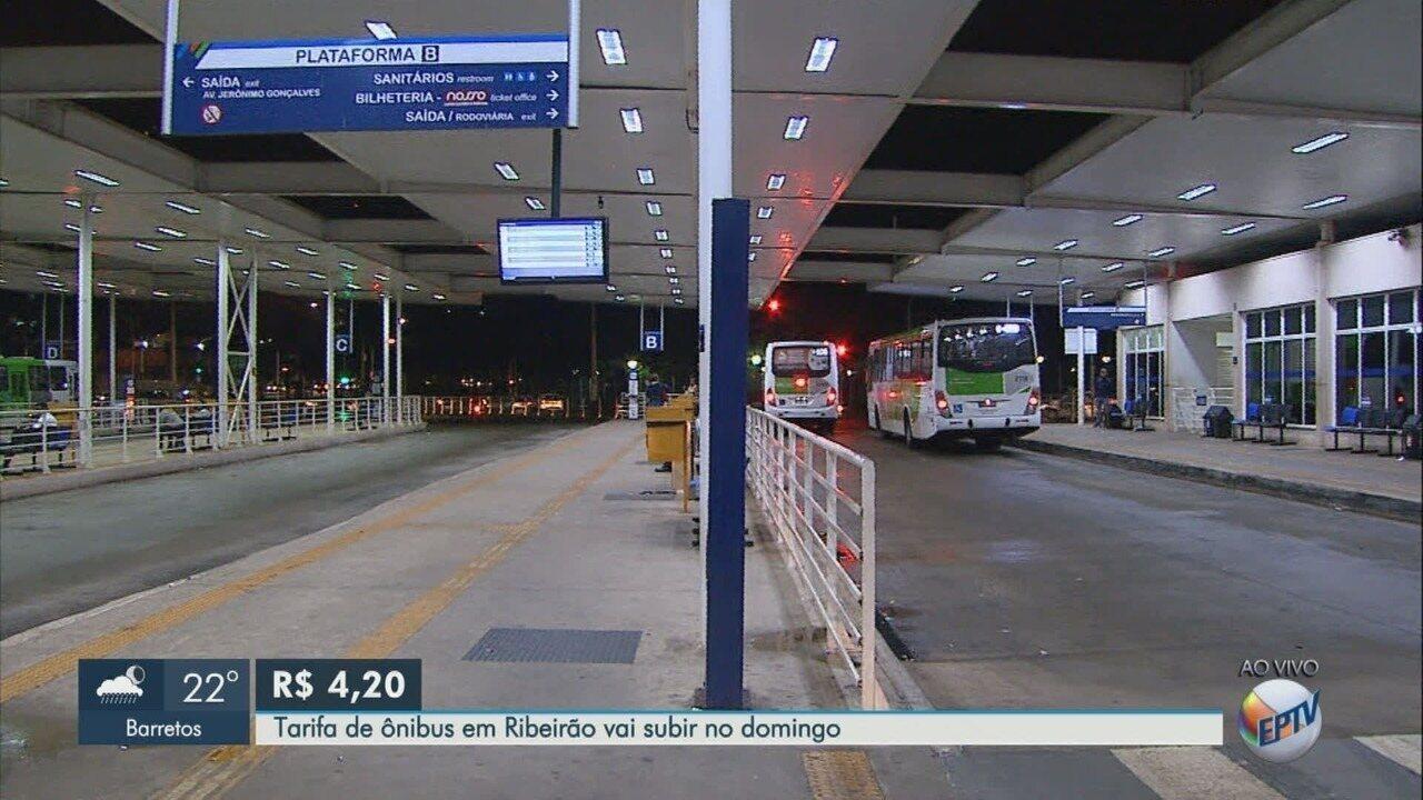 TJ-SP autoriza reajuste e tarifa de ônibus urbano sobe para R$ 4,20 em Ribeirão Preto