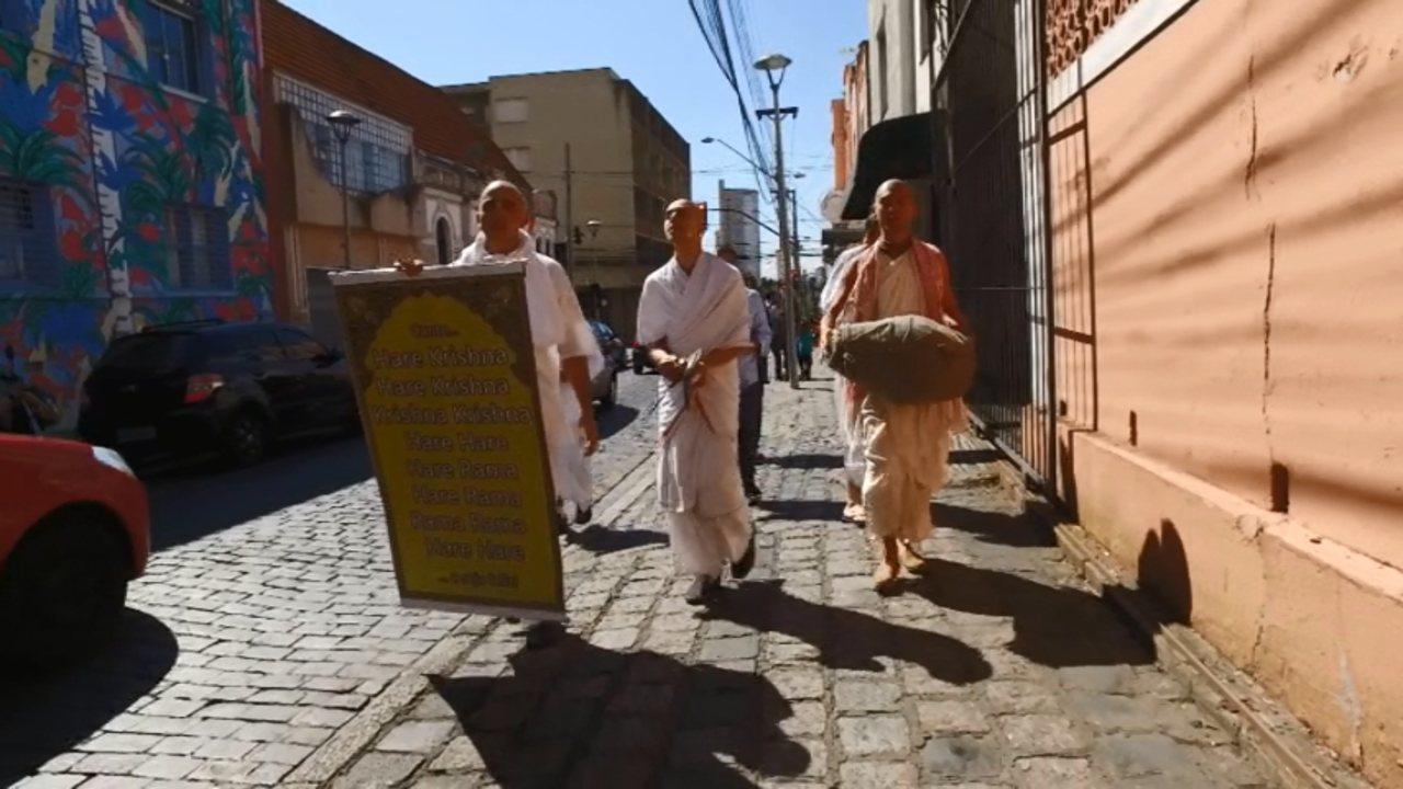 Meu Paraná te leva ao mundo do Hare Krishna