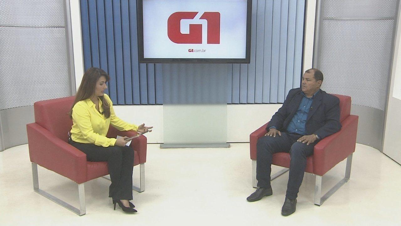 Pedro Nazareno é entrevistado pelo G1 Rondônia