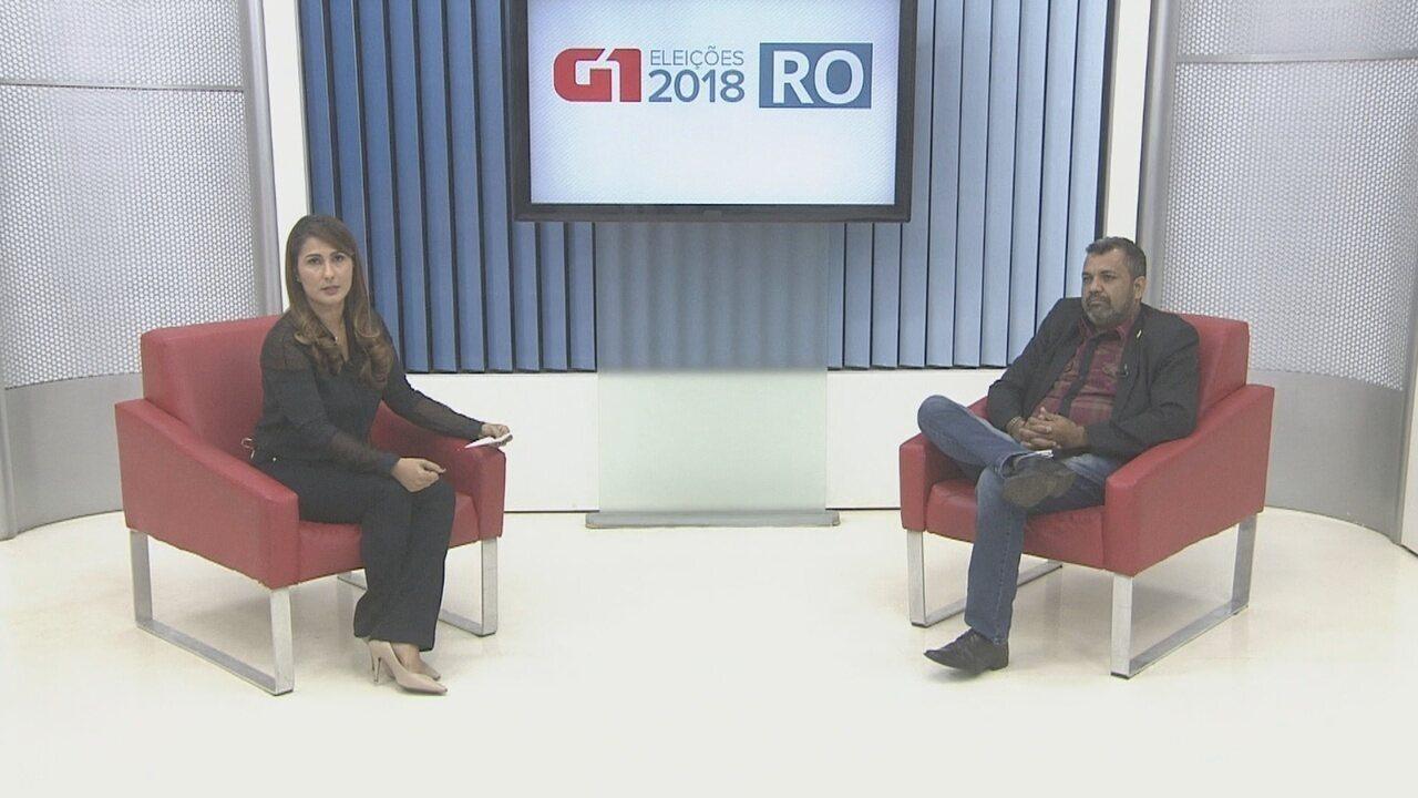 Valclei Queiroz é entrevistado pelo G1 Rondônia